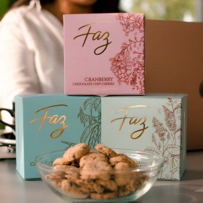 Faz Trio boxes Chocolate Chips