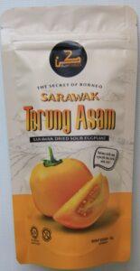 Dried Terung Asam (sour eggplant/solanum