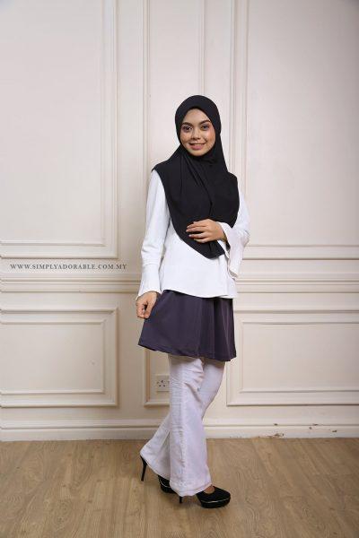 outer mini skirt for muslimah for sport